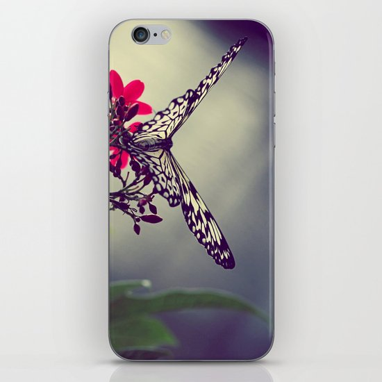 Butterfly in a Tree iPhone & iPod Skin