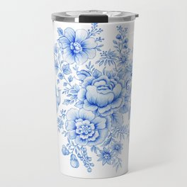 Blue asiatic pheasant Travel Mug