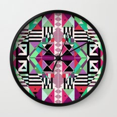Crazy Eights Wall Clock