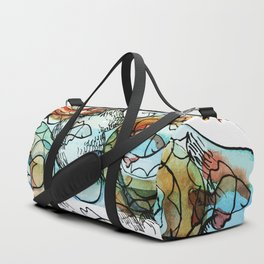 Life on the Earth  - The Ocean - Lighter version Duffle Bag