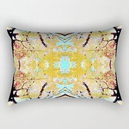 Tree Mosiac Rectangular Pillow