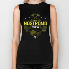 Nostromo Crew - Aliens Ripley Spaceship Biker Tank