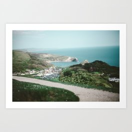 Lulworth Cove Art Print