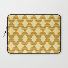 Bari Mustard Geometric Laptop Sleeve