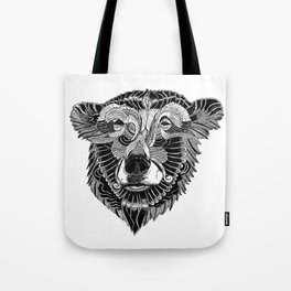 BEAR-HEAD Tote Bag
