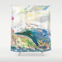 Narsarsuaq Shower Curtain