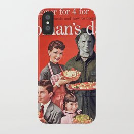 Michael Myers as Good Father iPhone Case
