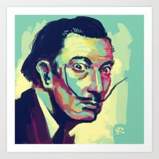Salvador Dalí Art Print