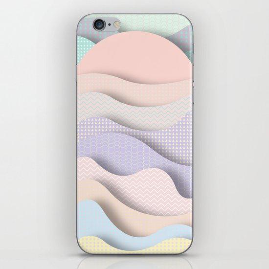 Wave I iPhone & iPod Skin