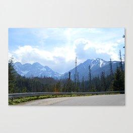 The Walk to Morskie Oko Canvas Print