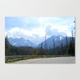 The Walk to Morskie Oko Canvas Print
