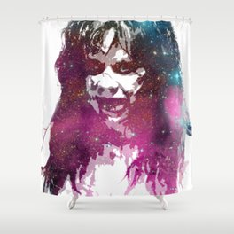Galaxy Linda Blair Regan MacNeil The Exorcist Shower Curtain