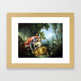 The Four Seasons. Spring Framed Art Print