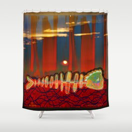Dry Swimming  / Trapped Shower Curtain