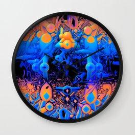 Feast Your Eyes Wall Clock