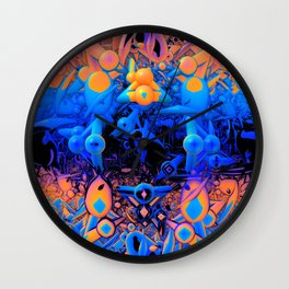 Feast Your Eyes Wall Clock