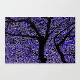Autumn blue Canvas Print