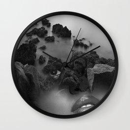 Rock girl Wall Clock