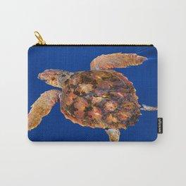 Loggerhead sea turtle Carry-All Pouch