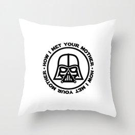 darth-mother Throw Pillow