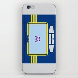 Soundwave Transformers Minimalist iPhone Skin