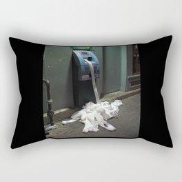 Glitch: ATM Machine Rectangular Pillow