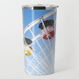 Santa Monica Ferris Wheel Travel Mug