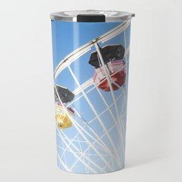 Santa Monica Ferris Wheel Travel Mug