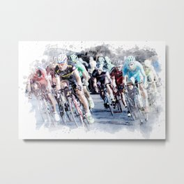 PELOTON for the TRUE cycling and sport lovers Metal Print