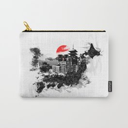 Abstract Tokyo-Shinjuku/Kyoto - Japan Carry-All Pouch