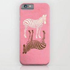 Zebras Pattern iPhone 6s Slim Case