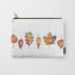 Orange Leaves for Autumn Carry-All Pouch