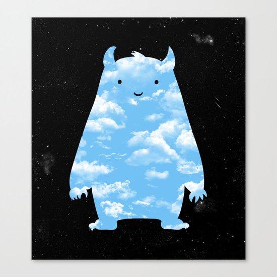 Mr. Sky Canvas Print