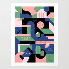 Creative Pattern III Art Print
