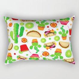 Fiesta Tacos Rectangular Pillow