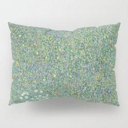 Gustav Klimt - Rosebushes Under the Trees Pillow Sham
