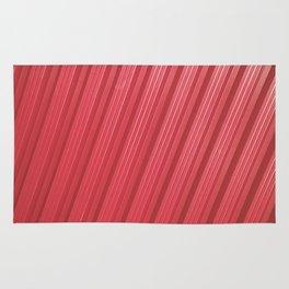Stripes II - Red Rug