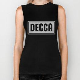 Decca Record Label Biker Tank