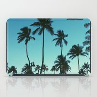 palm trees iPad Cases featuring Palm Trees by Whitney Retter