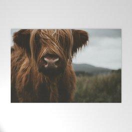 Scottish Highland Cattle Welcome Mat
