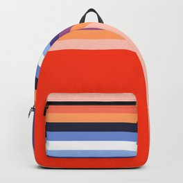 70s Stripes Rainbow 2 Backpack