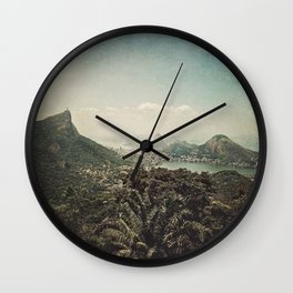 a piece of heaven Wall Clock
