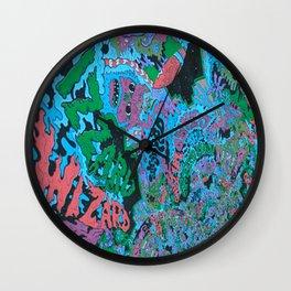 Paper Mâché Dream Balloon Kings Wall Clock