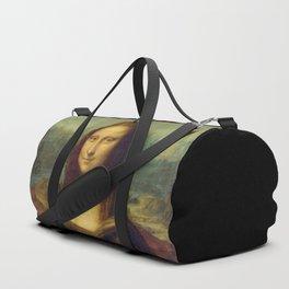 Mona Lisa by Leonardo da Vinci Duffle Bag