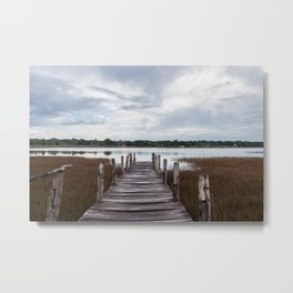 Lake of Cobá Metal Print