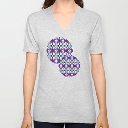 Passion For Purple - Painting Within The Lines Collection Unisex V-Neck