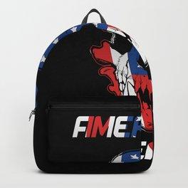 American Sheepdog shirt Backpack