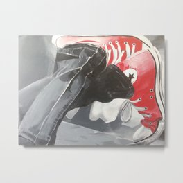 Red shoes #2 Metal Print