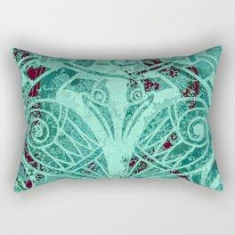 Celtic Zoomorphic Rectangular Pillow
