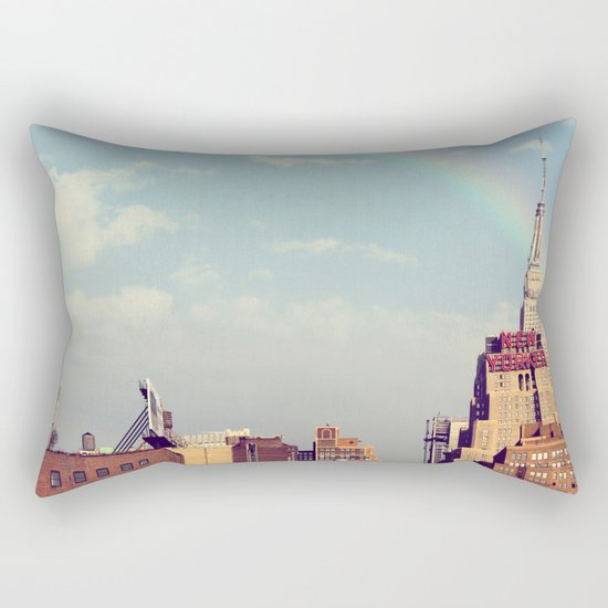 new yorker 5 Rectangular Pillow